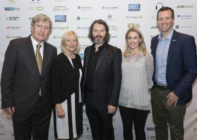 1 IrelandWeeks Goldenhair by Brian Byrne - Ambassador Dan Mulhall - Greta Mulhall -Brian Byrne -Caoimhe McEnhill - Consul General Robert O'Driscoll