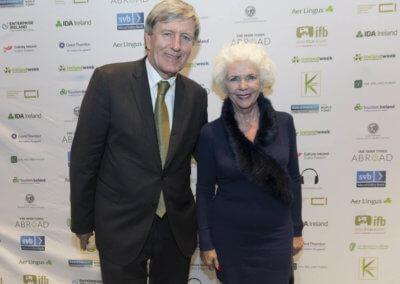 2 IrelandWeeks Goldenhair by Brian Byrne - Ambassador Dan Mulhall and Fionnula Flanagan