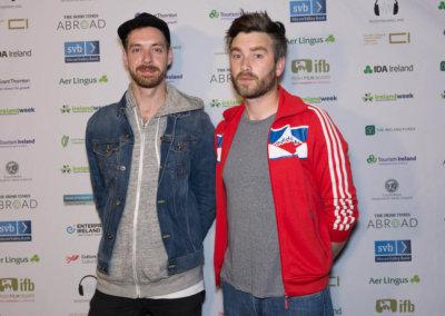 6 IrelandWeek - featured artist ALL TVVINS - Red Carpet(1)