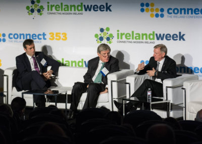 IrelandWeek's connect353 - Michael D'Arcy TD-Dan Mulhall-Harry Hartford