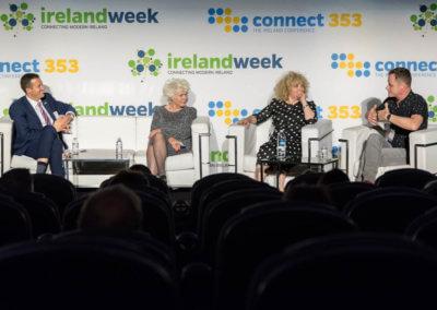 Robert O'Driscol-Fionnula Flanagan-Angela Dorgan-Rory O Neill